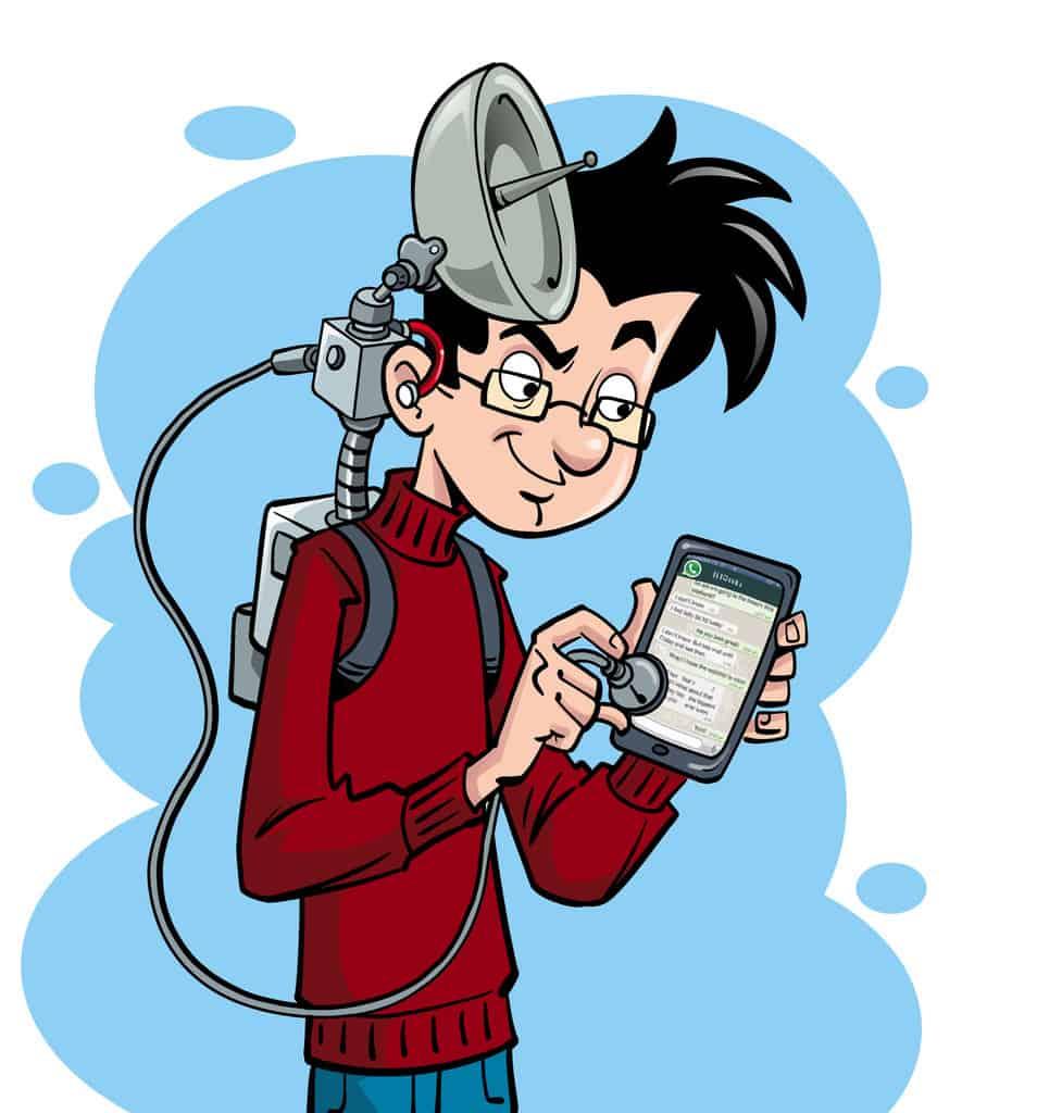 Handy abhören mit Sniffer App, um Kommunikation mitzulesen