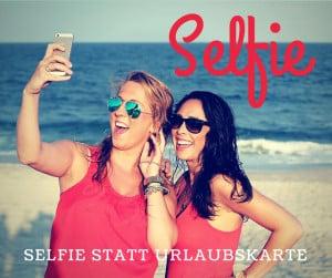 Selfie aus dem Urlaub