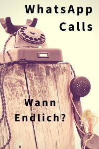 Wann werden WhatsApp Calls möglich?