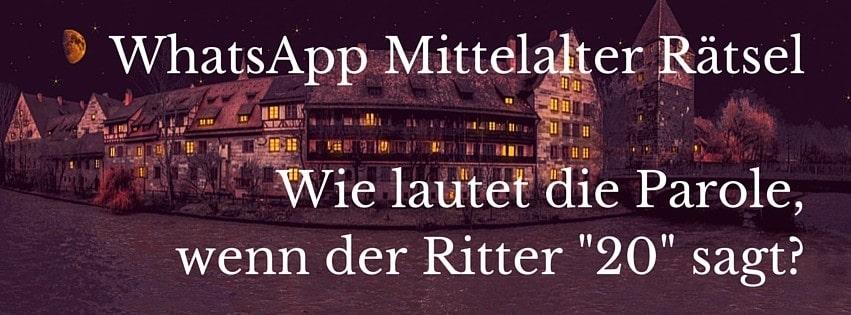 Whatsapp Rätsel