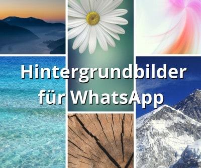 Hintergrundbilder für WhatsApp