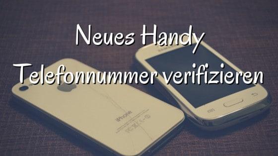 Handy Verifizieren